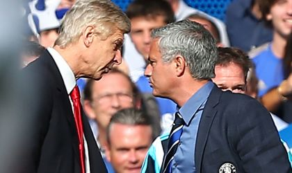 VIDEO: Empujón de Wenger a Mourinho