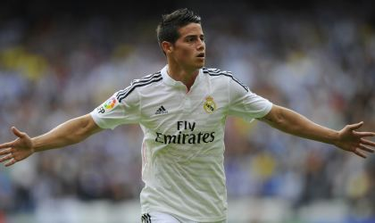 James: gol y pase gol en la victoria 5-0 del Real Madrid sobre el Levante (VIDEO)