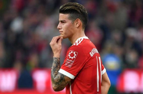 Regular partido de James Rodríguez en Alemania